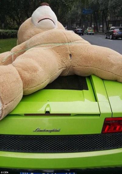 Teddy Bear-nya aneh...