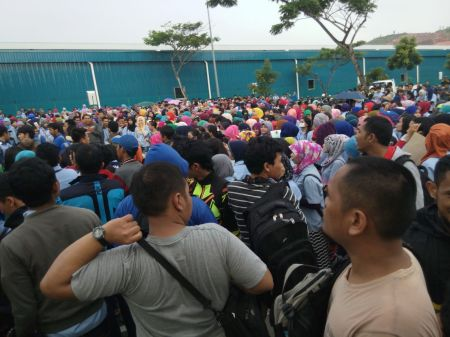 Mogok Nasional Batam 2015