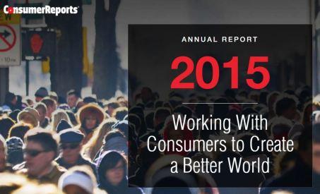 Consumer Reports Annual Report 2015