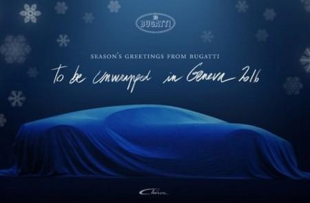 Teaser Bugatti Chiron