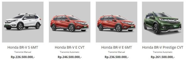 Harga Honda BR-V