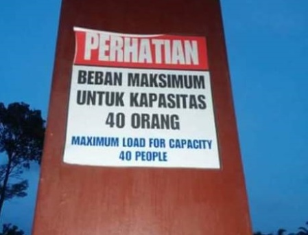 Kapasitas maksimum Jembatan Langsa