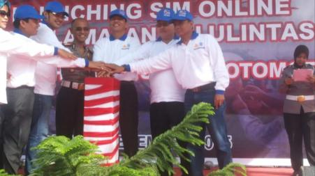 Launching SIM Online di Batam