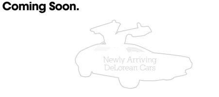 Delorean DMC-12 Coming Soon