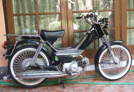 Salah satu motor Jialing di Indonesia