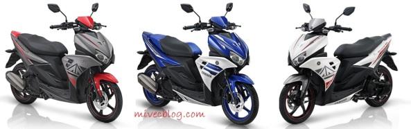 Pilihan Warna Aerox 125 LC