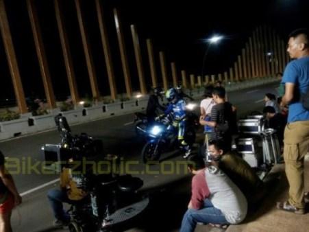 Syuting Iklan Suzuki Satria F150 Injeksi - November 2015