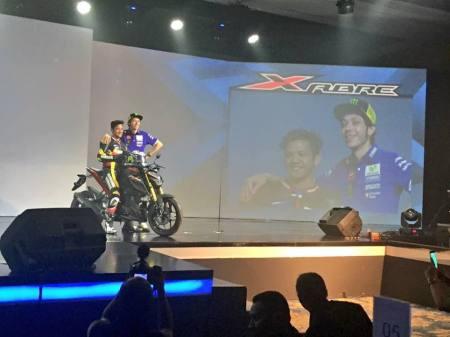 Xabre 150 Launching bersama Rossi