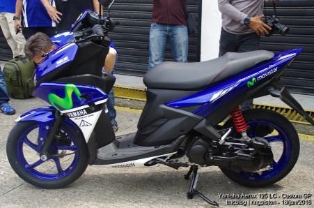 Yamaha Aerox 125 LC Livery Movistar