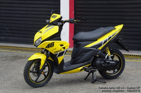 Yamaha Aerox Edisi 60th Yamaha