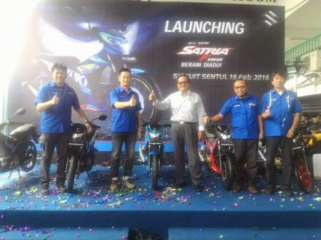 Launching Satria F150 FI