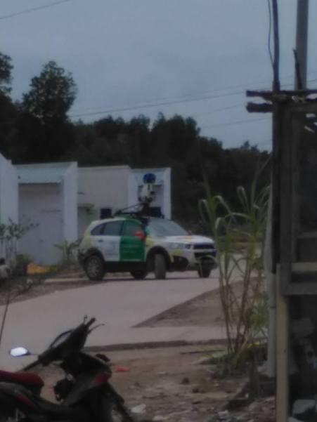 Mobil Google di Batam - Pict : Bowo Suhanda