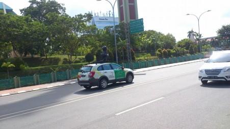 Mobil Google di Batam - Pict : Mirza Gunawan