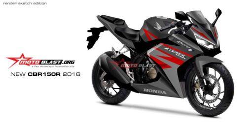 Rendering New CBR150R 2016