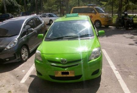 Taksi Batam - Plat U dari Jakarta