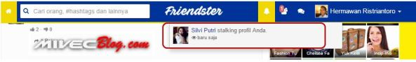 Stalking notification