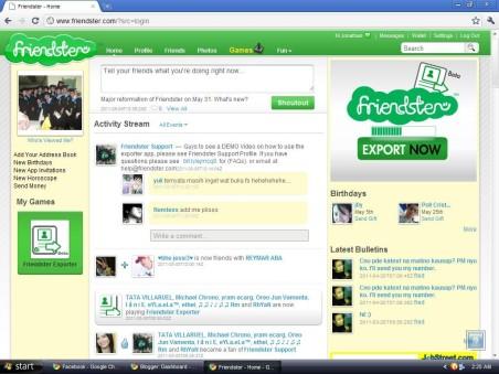 Friendster - socialcontrol.com