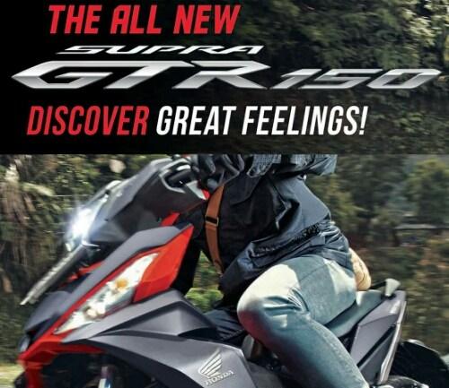 All New Honda Supra GTR 150