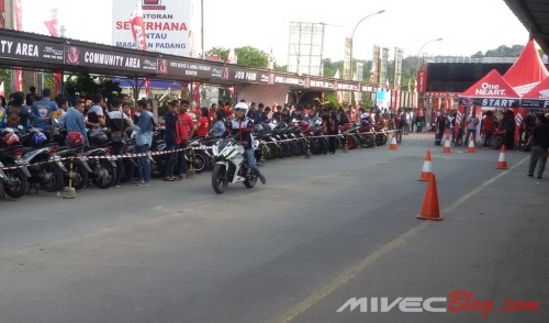 Test Ride New CBR150R di Batam