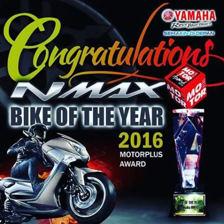 NMAX Bike of The Year 2016