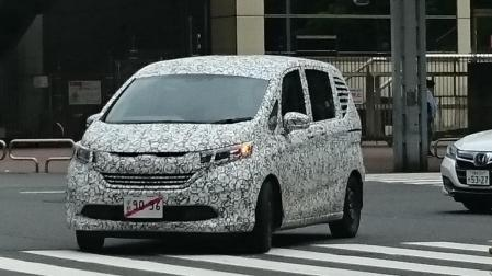 Honda Freed 2017 Spyshot
