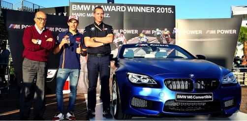 Marquez - Pemenang BMW M Award 2015