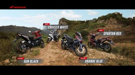 Pilihan Warna Supra GTR150