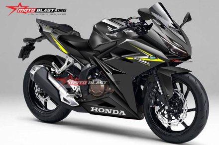 Rendering CBR250RR - Motoblast