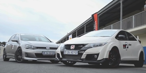 VW Golf vs Civic Type R