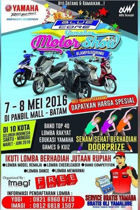 Yamaha Motor Show Batam 2016