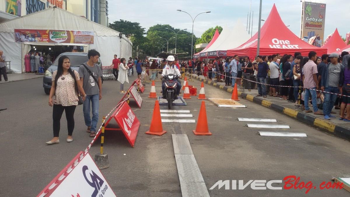 Test Ride Supra GTR 150
