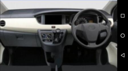 Daihatsu Sigra - Dashboard varian terendah
