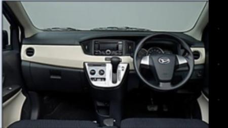 Daihatsu Sigra - Dashboard