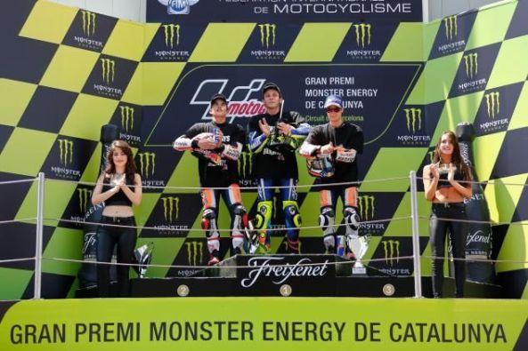 Podium MotoGP Catalunya 2016