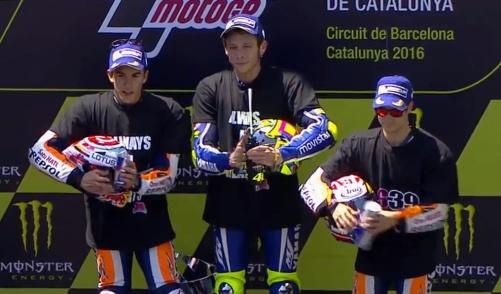 Rossi Marquez Pedrosa