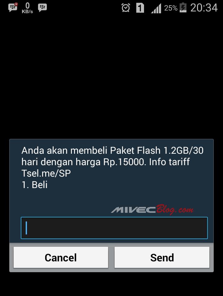 Promo Telkomsel 1,2 GB hanya 15 ribu