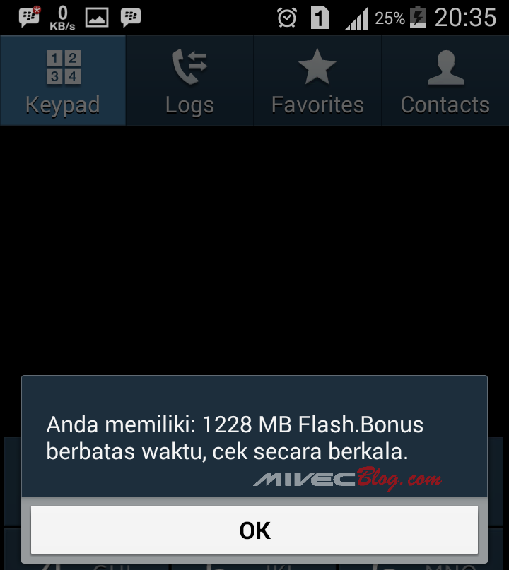 Nih hasilnya - Promo Telkomsel 1,2 GB hanya 15 ribu