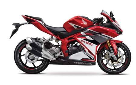 CBR250RR Racing Red