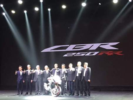 Launching All New CBR250RR