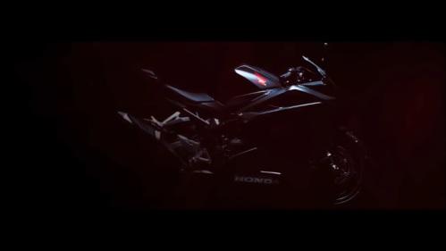 Teaser Honda CBR250RR - Desain