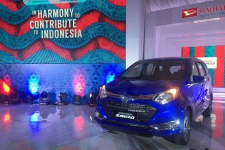 Foto Launching Daihatsu Sigra