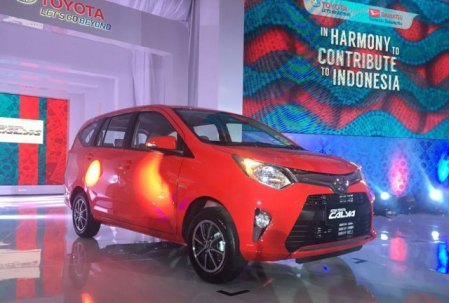Foto Launching Toyota Calya