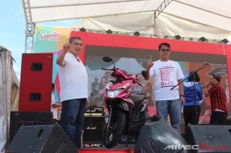 Peluncuran All New Beat eSP di Batam oleh Pak Arifin