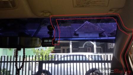 Kabel Instalasi Yi Dash Cam