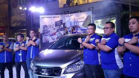 Launching New SX4 S-Cross di Batam