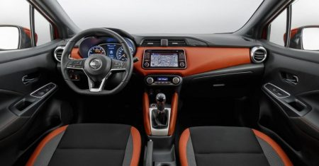 Interior Nissan March/Micra 2017