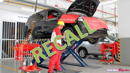 Recall Mobil Nissan Indonesia