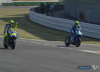 Rossi kesal terhadap Aleix