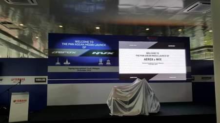 Persiapan Launching Yamaha Aerox/NVX 155 di Malaysia