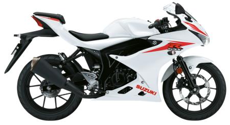 GSX-R125 Brilliant White